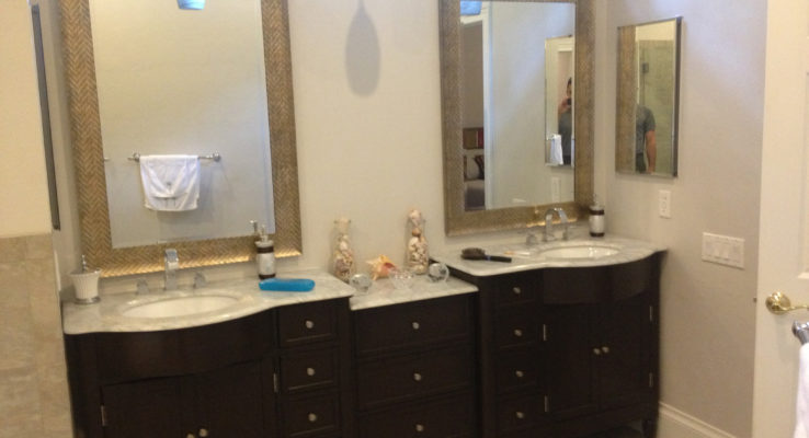 Bathroom remodel and redesign from the team at Lumberjack Plumbing.