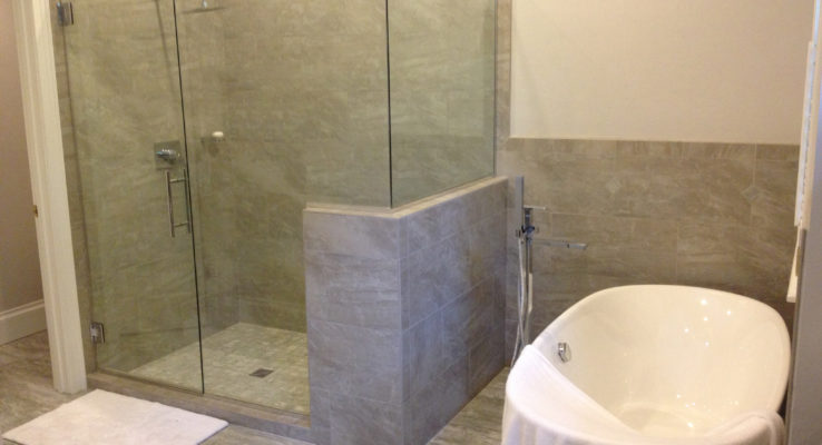 Another bathroom remodel from Lumberjack Plumbing.
