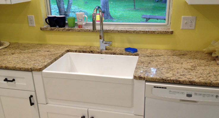 Our kitchen remodels are one of the many services Lumberjack Plumbing provides.